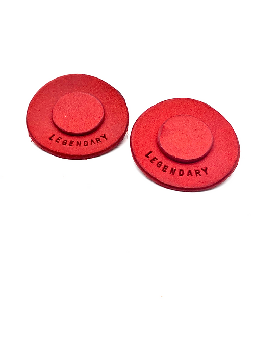 """LEGENDARY"" Earrings in Red"