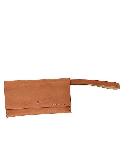 """WELL LOVED"" Wristlet in Rose"