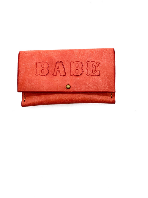 """""""BABE"""" Cardholder in Pink"""