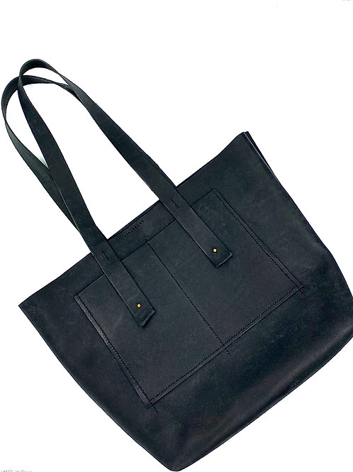 """VISIONARY"" Tote in Black"