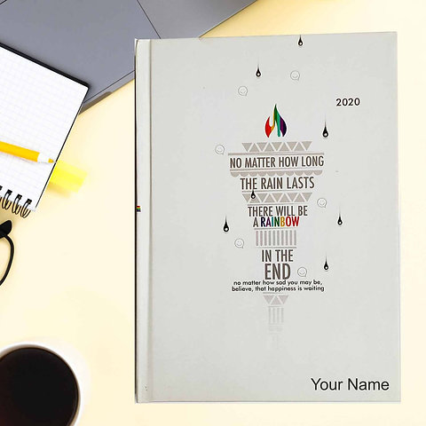 motivational quotes diary big size jv prints llp