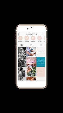 Barefoot Birthing Instagram