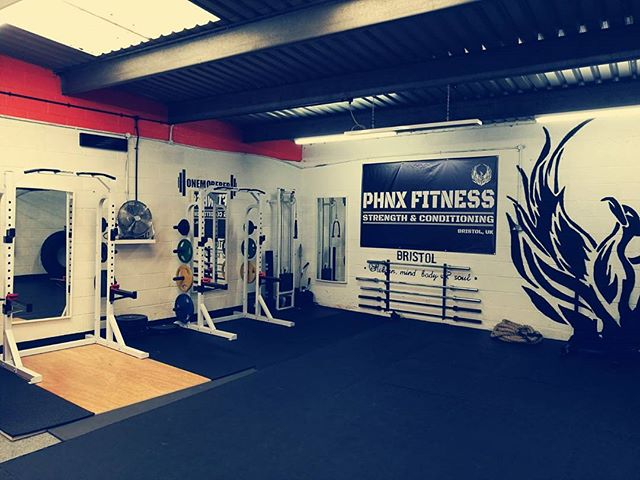 PHNX FITNESS Bristol _Orange and black since 2011