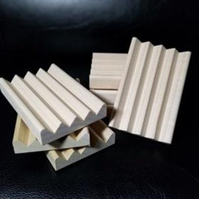 Hardwood Soap Holder