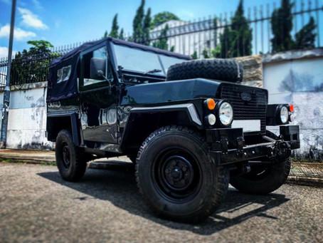 Land Rover Defender 90 軍用版本