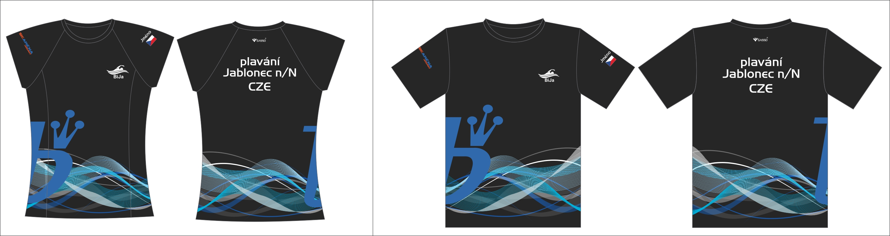 Triko plavci JBC