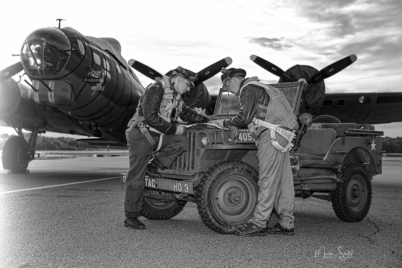 WWII B-17 mission plan