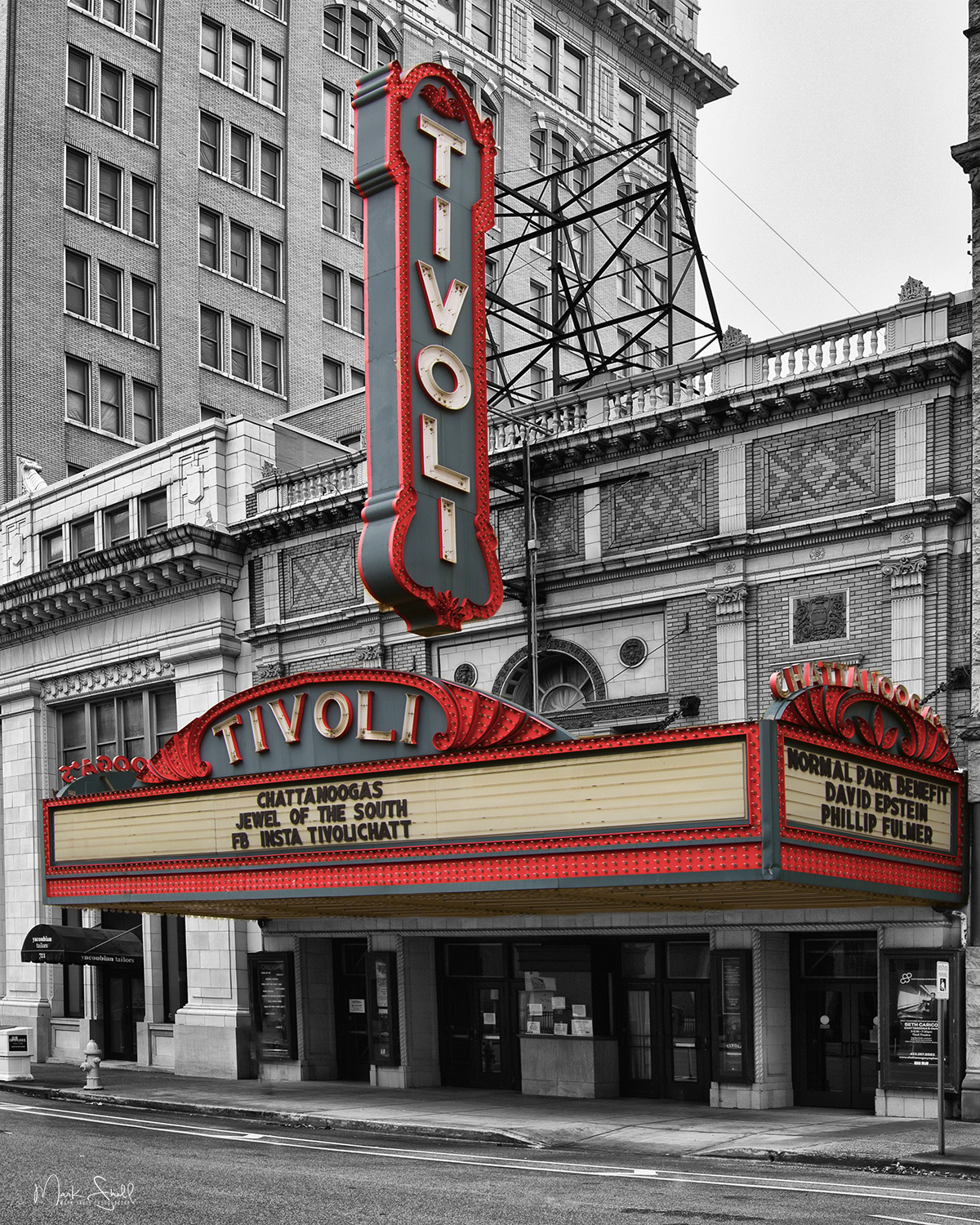 Tivoli Marquee bw color  v5