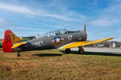 SNJ Texan T6 Navy