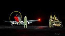 P-51 Mustang night crew post