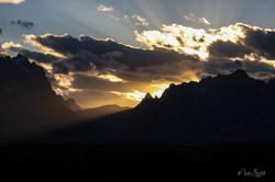 Grand Teton NP sunset