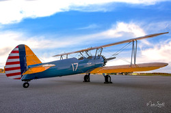 Stearman Chattanooga and late clouds
