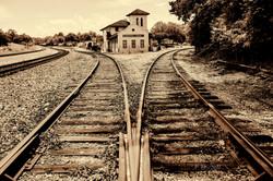 Bridgeport Train Depot split decision