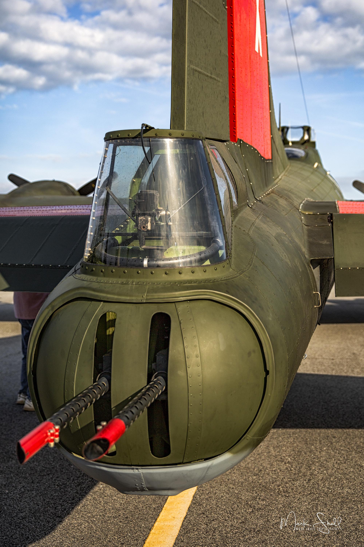 B-17 rear gun turret