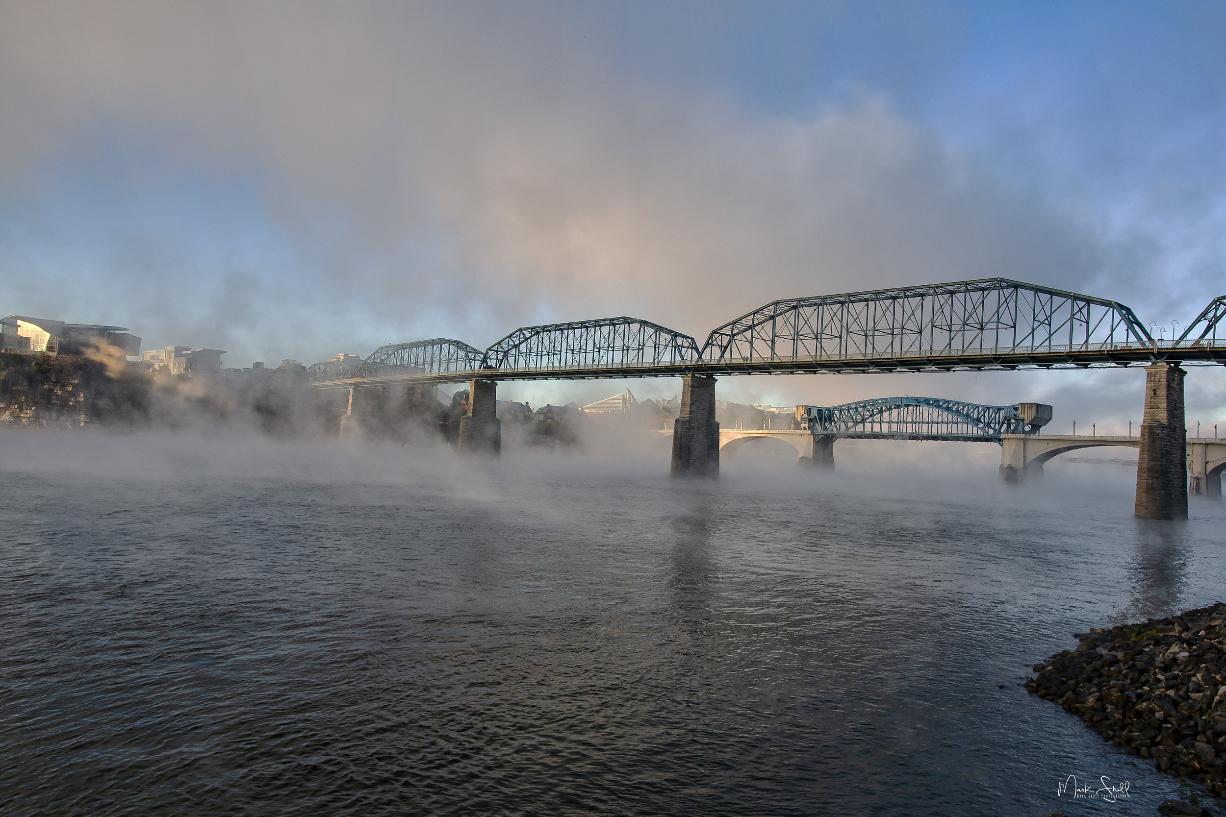 Chattanooga Foggy Morning