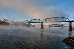 Chattanooga Foggy Morning