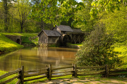 Mabry Mill spring 2019 post