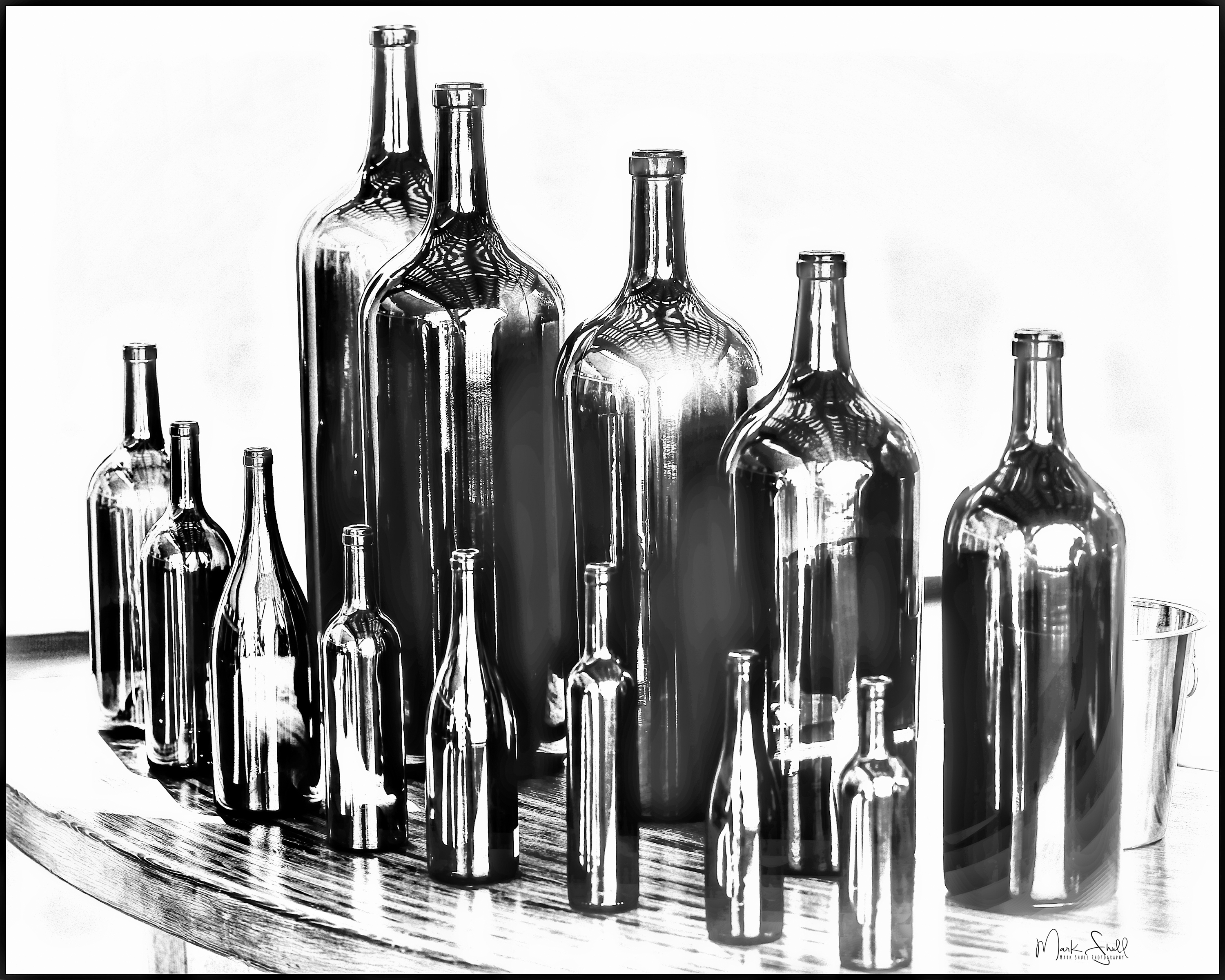 Napa Sterling Bottles BW