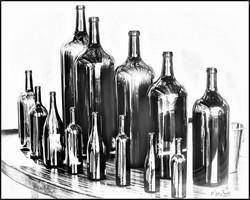 Napa Sterling Bottles BW