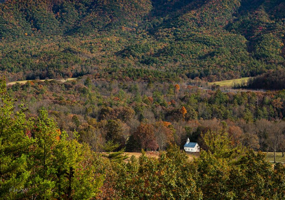 Cades Cove Methodist Mountain View