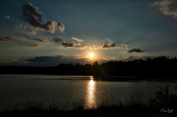 Sunset at Blythe's Ferry