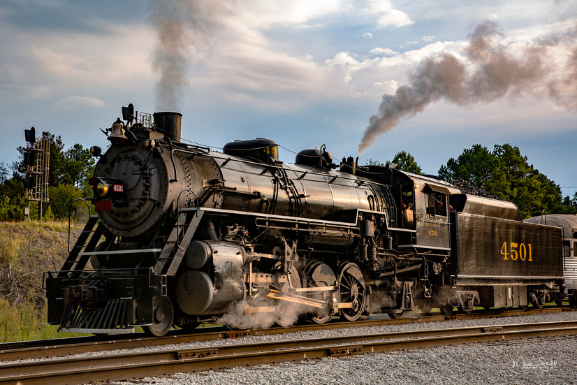 Steamer 4501 Chattanooga Departure