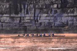 Chattanooga Rowers Fog TN River