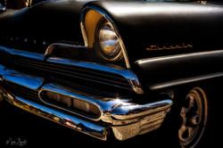 Vintage Lincoln Coker outside