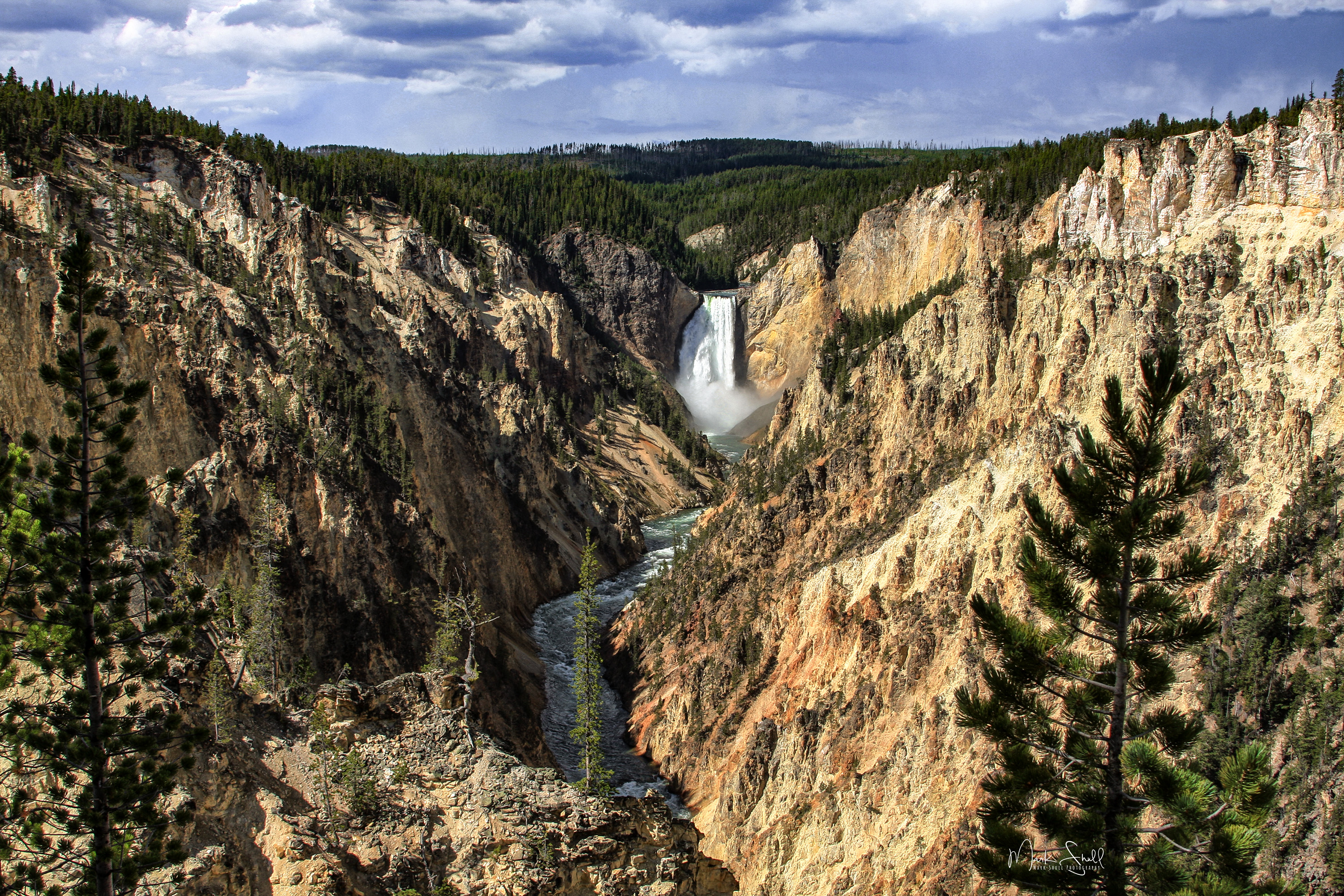 Upper Yellowstone Falls YNP