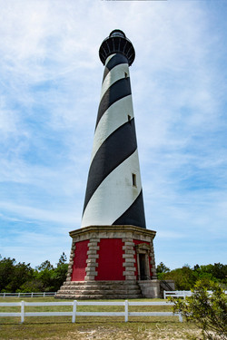 Cape Hatteras Lighthouse close