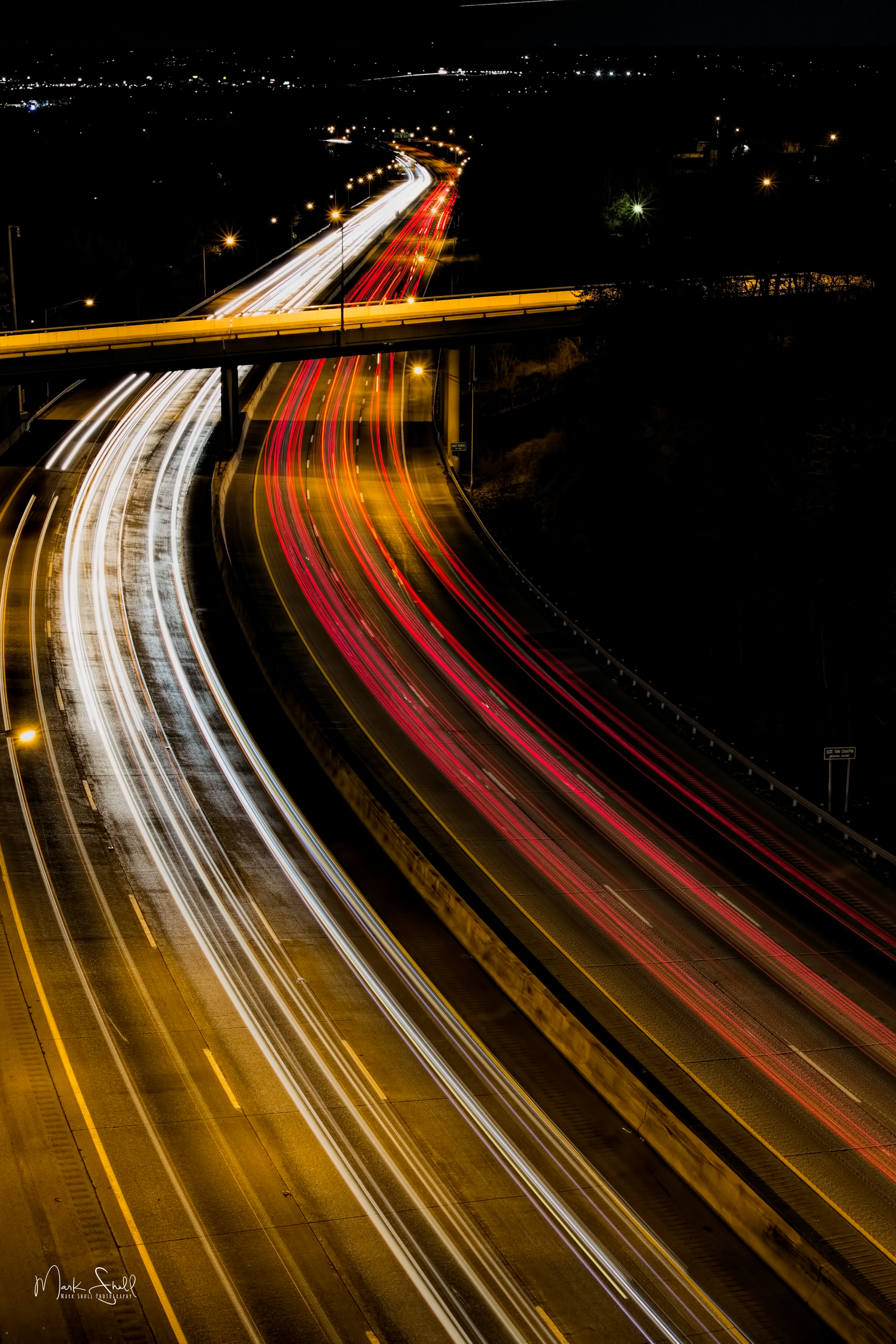 I 75 light trails