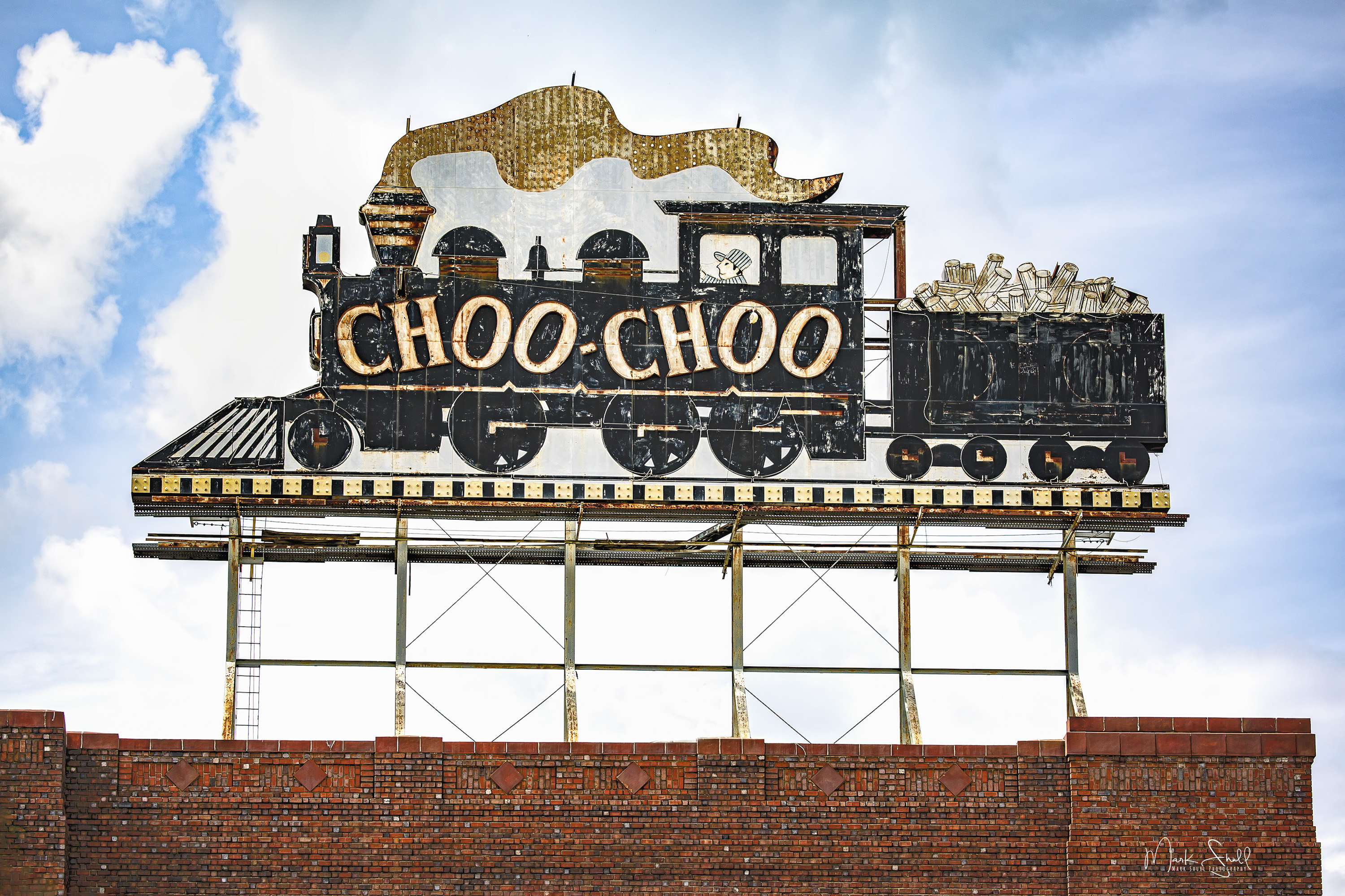 Choo Choo Roof Top Sign