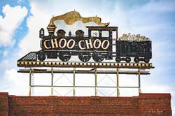 Choo Choo Roof Top Sign