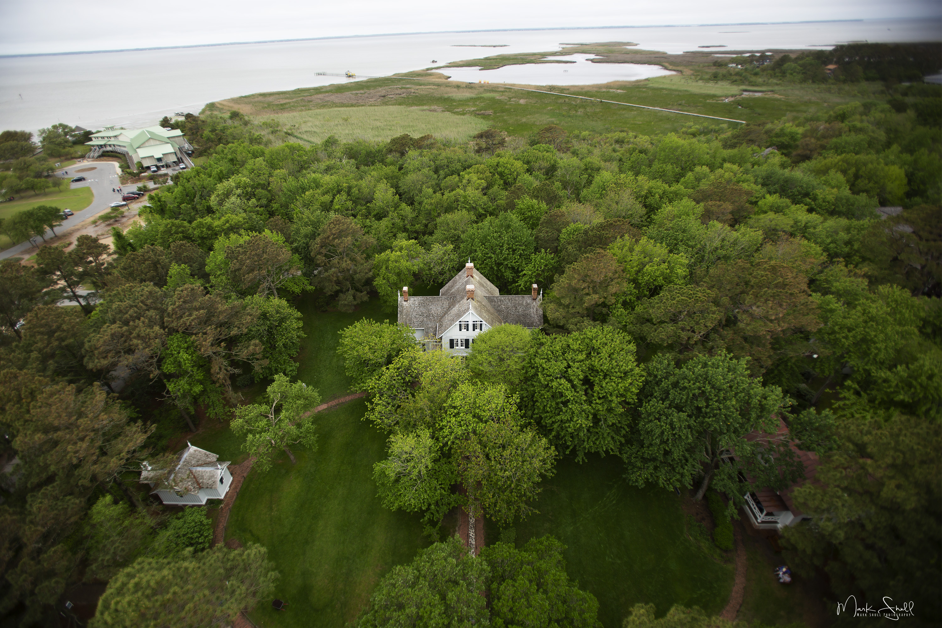 View from Currituck Lighthouse post