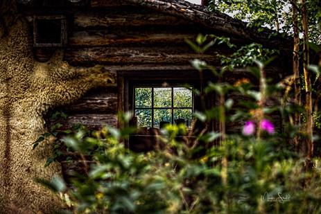 Fairbanks Chena Indian village window