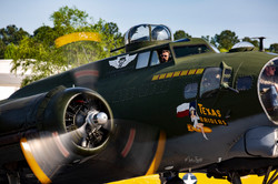 WWII Days B-17 taxi