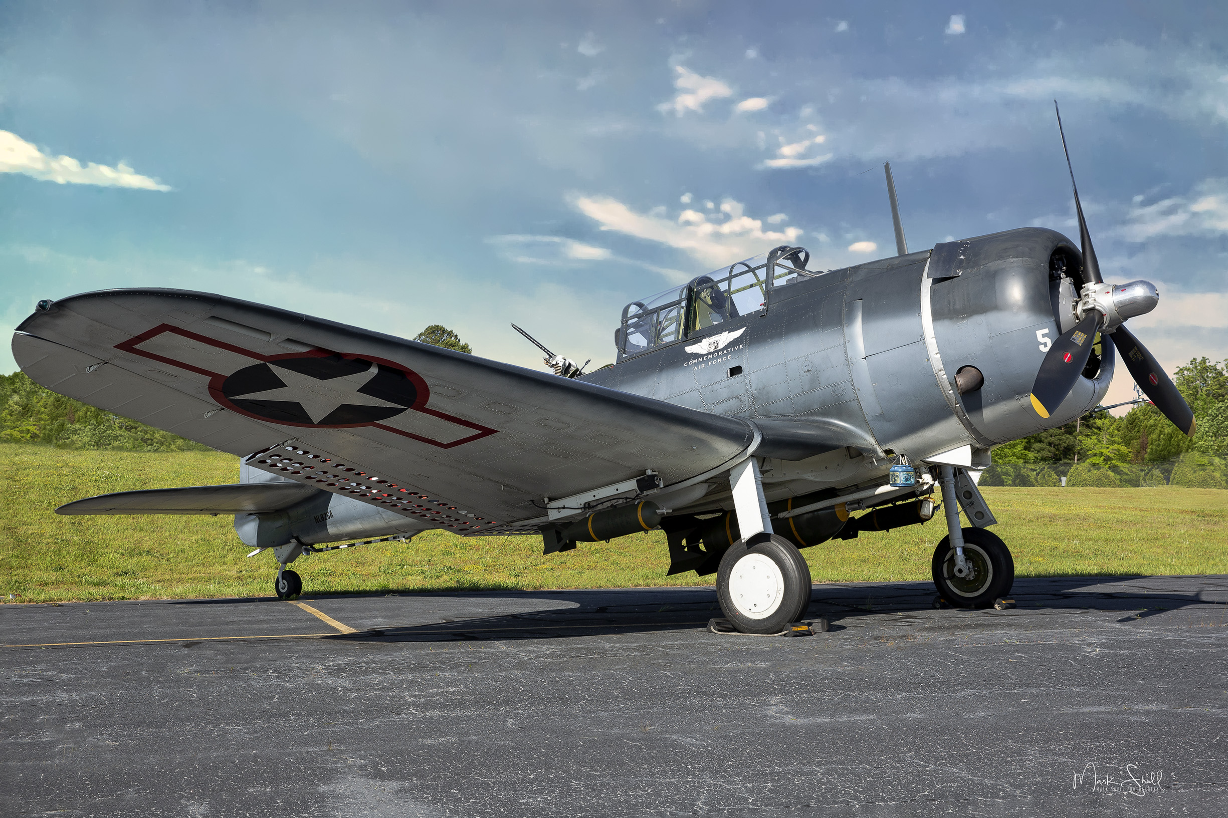 SBD-5 Dauntless afternoon