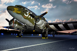 C-47 That's All Brother sunset post