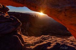 Canyonlands mesa sunsrise