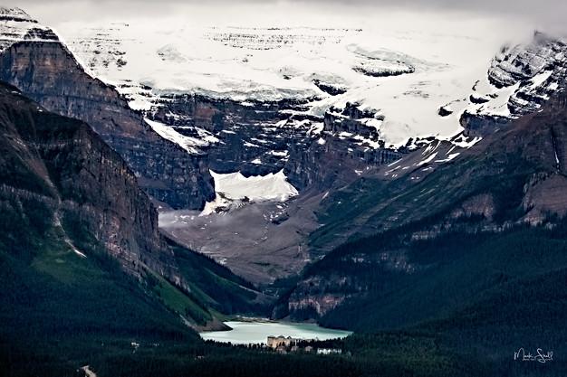 Lake Louise Valley view