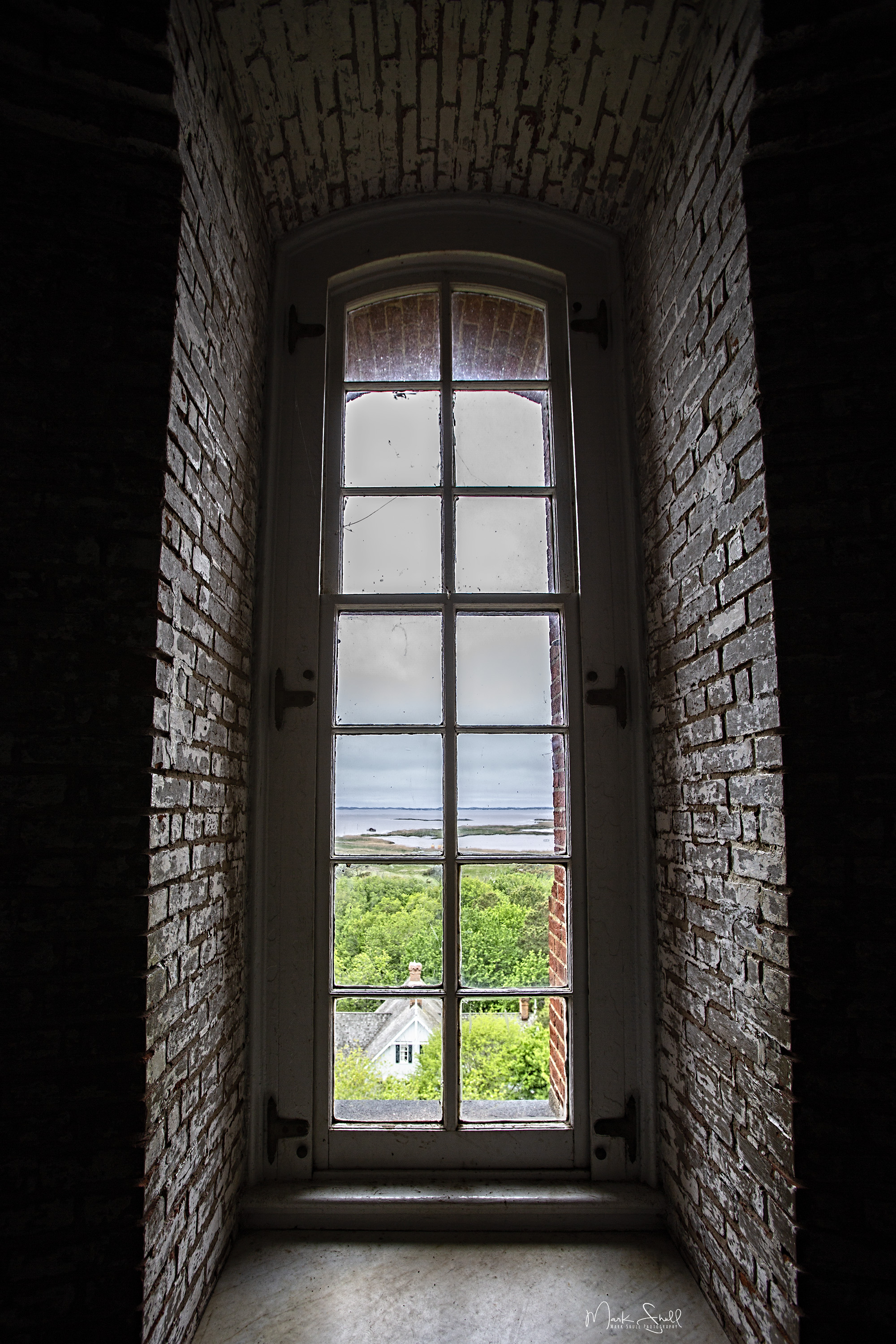 Currituck Beach Lighthouse window post