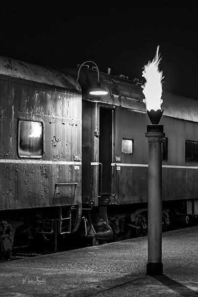 Choo Choo Pullman torches BW