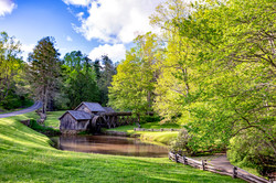 Mabry Mill spring afternoon