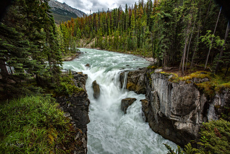 Sunwapta Falls Jasper Nat Pk