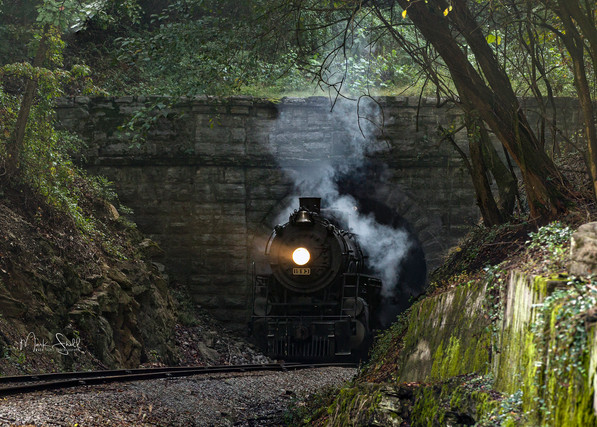 L&N 1593 Steam Chattanooga