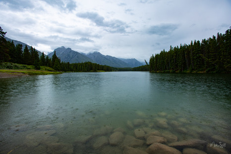 Johnson Lake Rain
