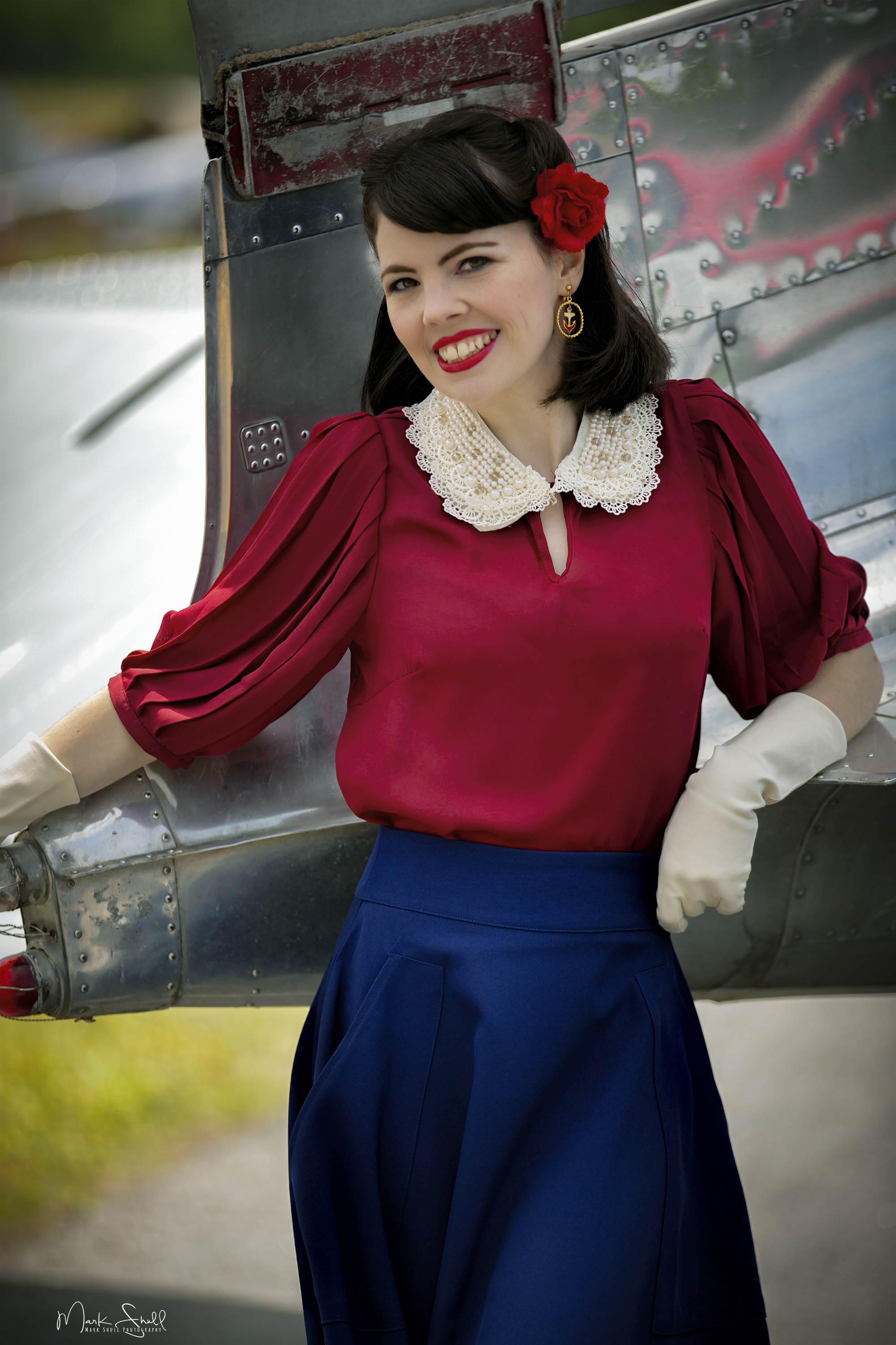 WWII pinup model A