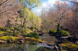 Gibbs Japanese garden post