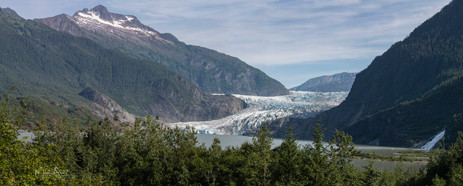 Mendenhall Glacier NP pan 2