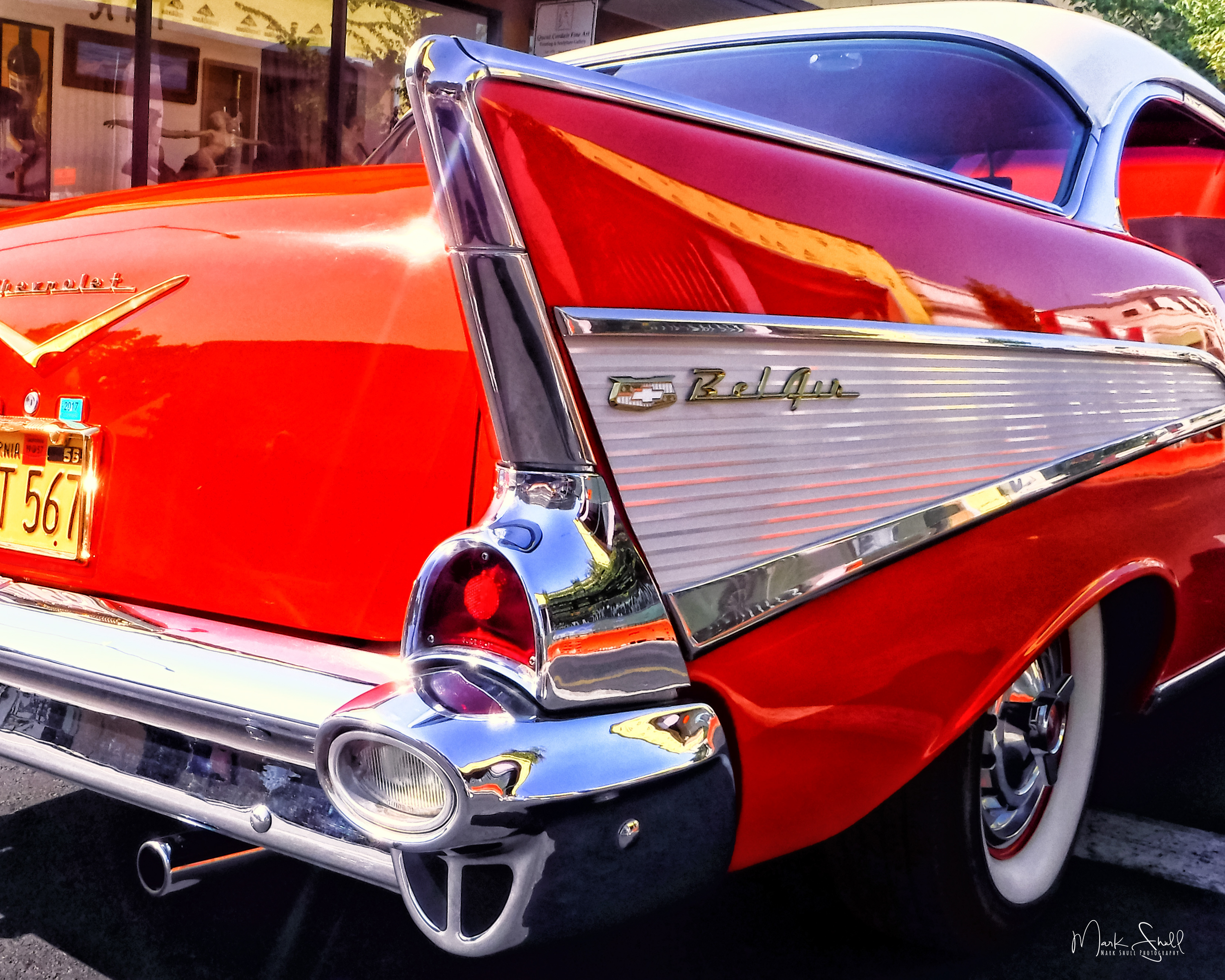 Chevy Bel Air fin